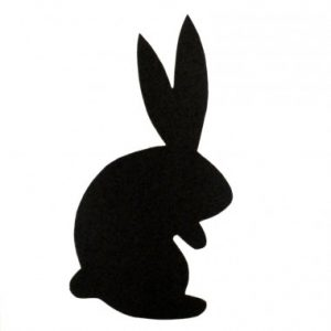 Silhouette of a Bunny