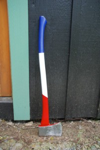Custom Painted Ax Handle